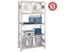 META CLIP S3 BOLTLESS SHELVING - 331 LB. SHELF LOAD